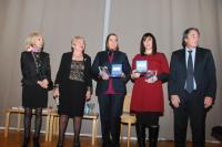 Prix Louis-Blum 2013: Eva Sandler et Latifa Ibn Ziaten