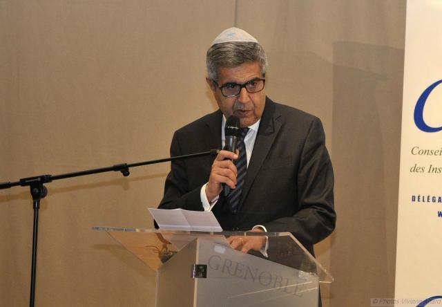 Prix Louis Blum 2015, décerné à l'Imam Hassen CHALGHOUMI