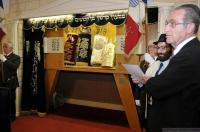 Cérémonie synagogue Rachi