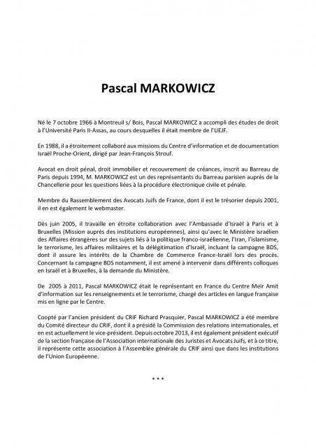 Affiche conf markowicz 2