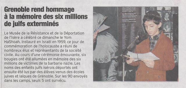 Dauphine Llibéré du 9 avril 2013