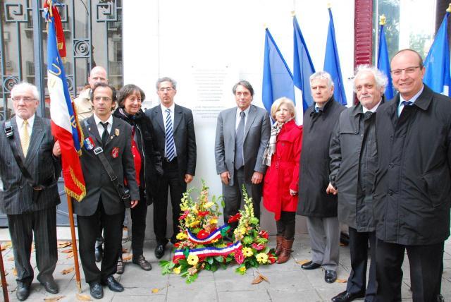 cérémonie 70ème anniversaire du Centre de Documentation Juive Contemporaine