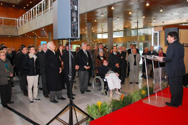 Inauguration Exposition Hotel de Ville de Grenoble.