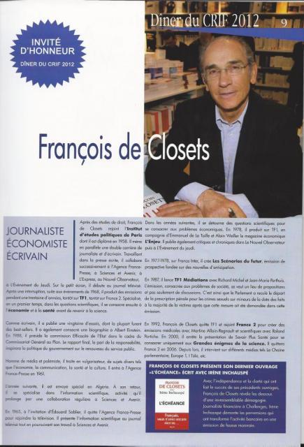 Francois de Closets